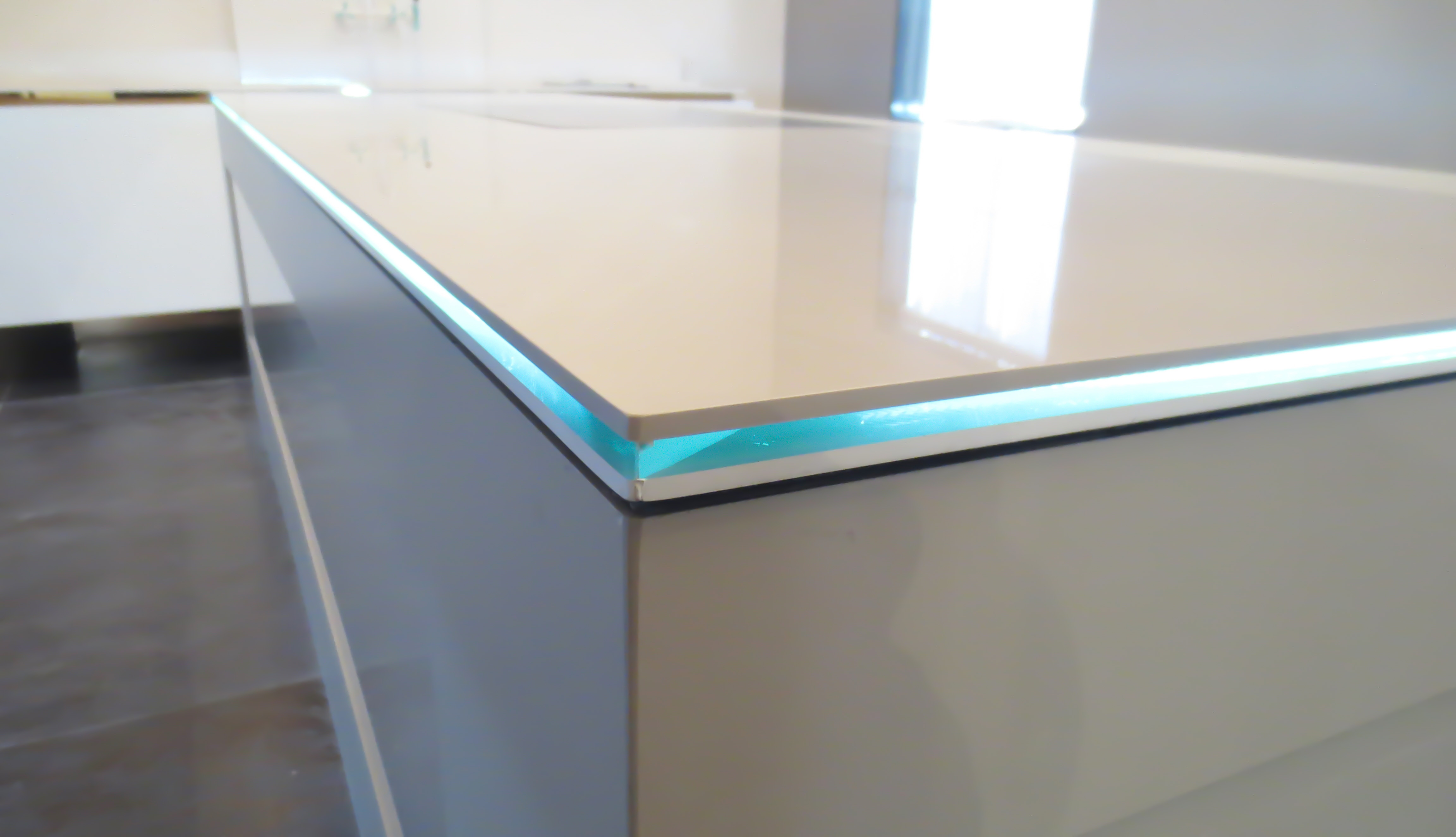 best slab countertop sink countertops pinterest kitchen how of images on ideas clean new a porcelain charming to luxury